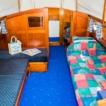 Leda main cabin