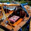 Seas moored