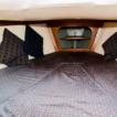 Temp forepeak bed